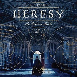 Heresy audiobook cover art