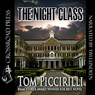 The Night Class audiobook cover art