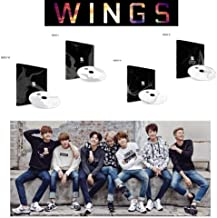 Vol. 2 Album BANGTAN BOYS 2nd BTS WINGS [ W+I+N+G ver. Set] 4CD + Photo Book + Polaroid Photocard + Special Gift
