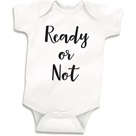 Pregnancy Announcement Baby Coming Handmade Baby Body Suit NB TO 24 Months Carters