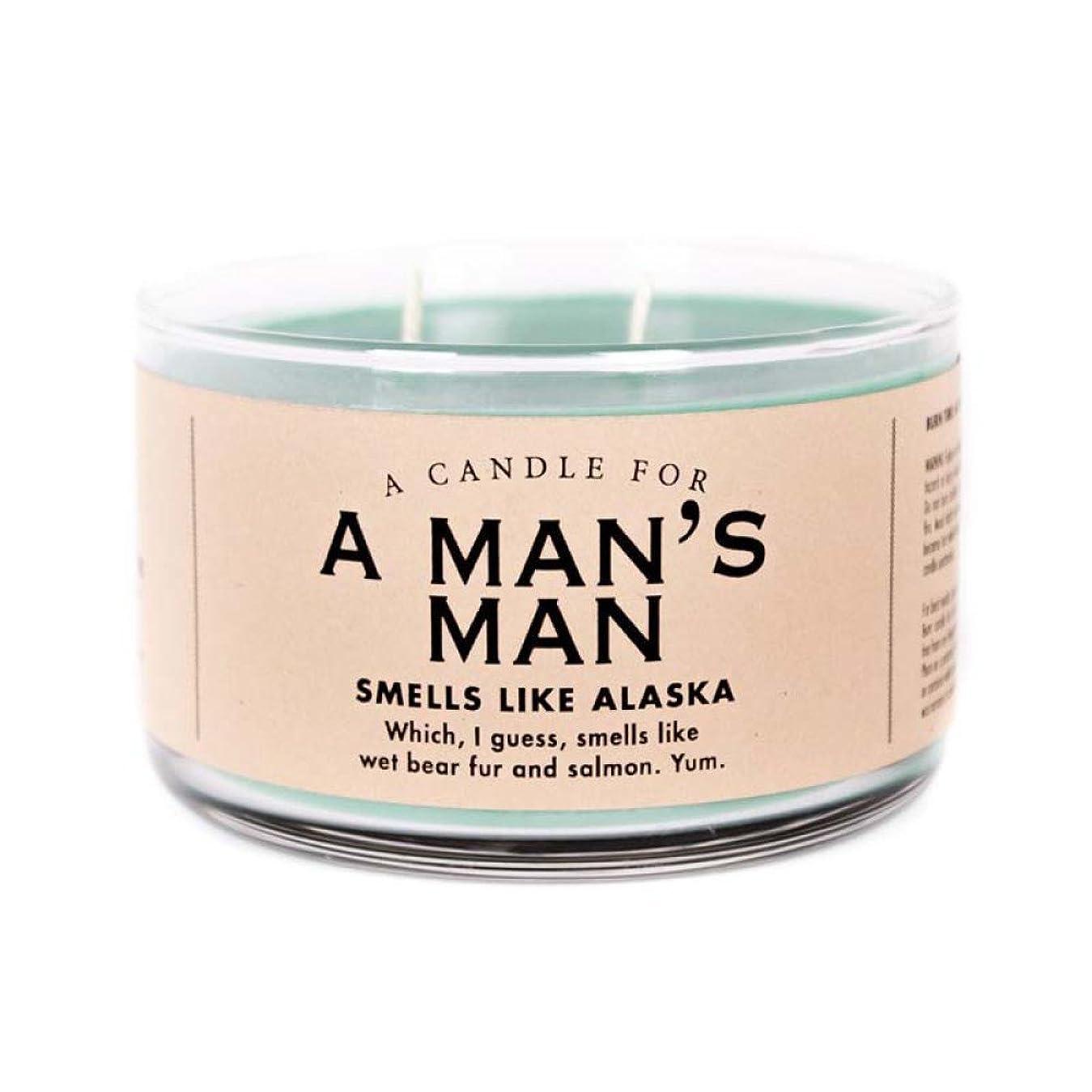 アラートリゾート士気Man 's Man Candle