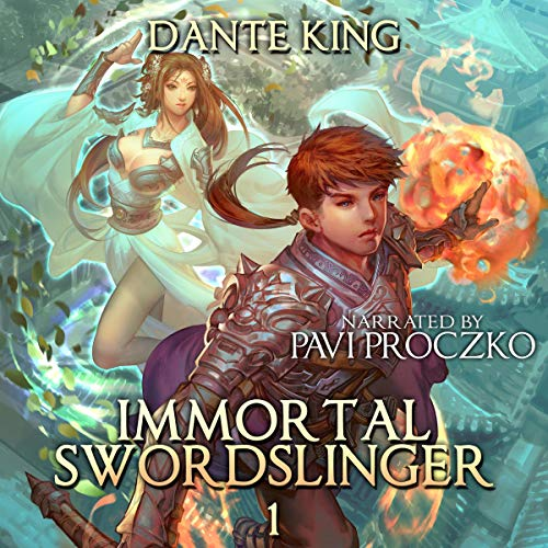 Immortal Swordslinger cover art