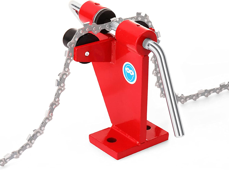 Explopur Cadenas de Motosierra Linker Cadenas de remachado Herramientas de Utilidad de Enlace Herramientas manuales Conveniente Conector de Cadenas Profesional