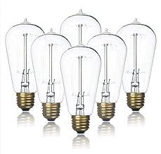 Best clear glass bulbs Reviews