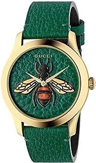 Gucci - Reloj Gucci G-Timeless 38mm Caso de Oro Correas Verde YA1264065