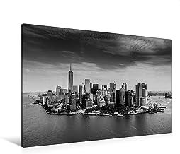 Premium Manhattan - Lienzo (120 x 80 cm, horizontal), diseño de Nueva Skyline York – Manhattan Skyline 2017 (CALVENDO Orte);CALVENDO Orte