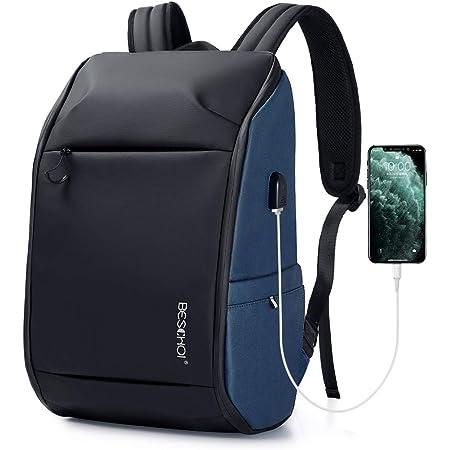 Anti-voleur Fashion Hommes Sac à dos multifonctionnel étanche Ordinateur Portable Sac à dos QC