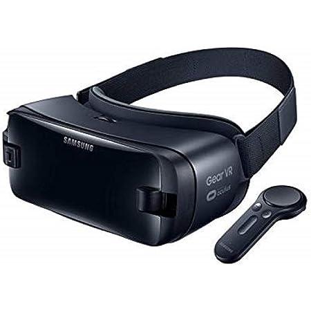 Samsung Gear VR con Controller, Compatibile con Galaxy Note 8, Nero, Versione Italiana
