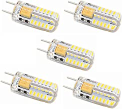 SGJFZD LED Bulb GY6.35 G6.35 Bi-pin Base 3W AC/DC 12V T4 JC Type Warm White Cool White LED 30W Halogen Replacement Bulb No...