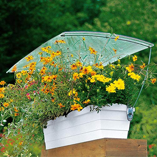 Regenschutz Balkonkasten Größe