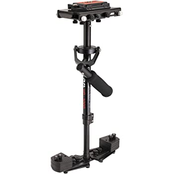 FLYCAM HD-3000 Handheld Video Camera Stabilizer with Quick Release Plate and Table Clamp, 8 Lbs Capacity