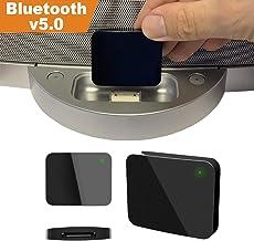 HyperlinQ Bluetooth Wireless to 30 Pin Interface Adapter Music Audio Converter Receiver..
