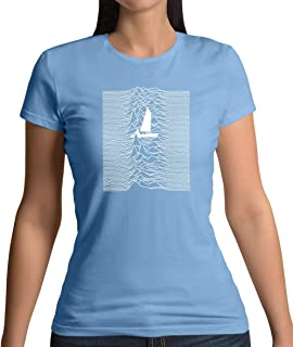 Unknown Pleasures of Sailing - Womens T-Shirt - 10 Colours