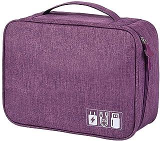 Demarkt elektronisk väska organizer elektronik tillbehör väska resa organiseringsväska, elektronik tillbehör organizer väs...