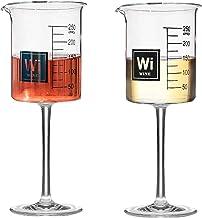 مجموعه ای دوره ای از 2 لیوان آزمایشگاهی آبجو لیوان - شیشه پاک - 8 سال