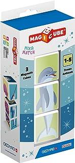 Magicube Ocean Animals - 3 Cubes - Magnetic Building Set