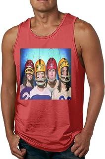 メンズ タンクトップ Red Hot Chili Peppers サマースポーツとフィットネス トップス