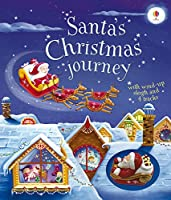Santa's Christmas Journey with Wind-Up Sleigh (Wind-up Books)