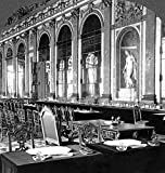 France Versailles 1919 Nthe Hall Of Mirrors At The Palace Of Versailles Set Up With Tables Where The Peace Treaty Was Signed On 28 June 1919 Poster Print by (18 x 24)