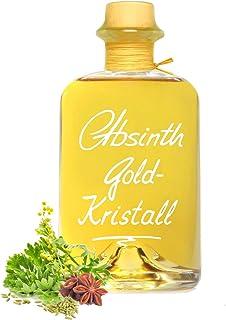 Absinth Gold Kristall 0,5L ohne Farbstoff mit maximal erlaubtem Thujongehalt 35mg/L 55% Vol