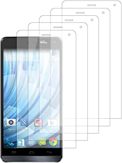 VComp-Shop® 5x transparent displayskyddsfolie för Wiko Getaway – TRANSPARENT