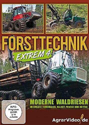 Forsttechnik Extrem 4 - Moderne Waldriesen im Einsatz: Timberjack, Valmet, Ponsse und Rottne