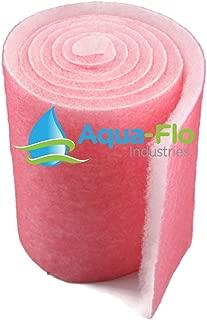 Aqua Flo Pond & Aquarium Filter Media, Choice Width x 10 Feet Long x 1