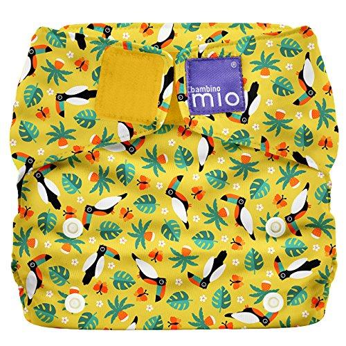Bambino Mio, miosolo all-in-one wiederverwendbare windel, tropischer tukan