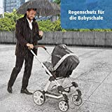 Reer - Protector de lluvia para cochecito, silla de paseo y cochecito deportivo...