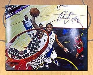 Autographed DeMar DeRozan Photograph - 2016 All Star Game Note 16x20#/16 - Autographed NBA Photos