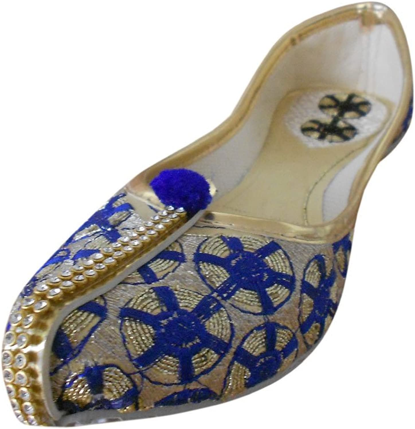 Kalra Creations Mojari Women's Indian Traditional Synthetic with Embroidery Ethnic shoes
