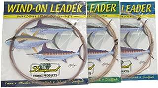 Melton Tackle Diamond Fluorocarbon Wind-On Leaders