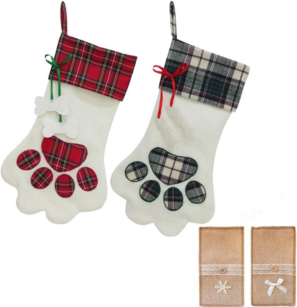 Beautyu Big Christmas Stockings Cat Memphis Mall Paw Dog SALENEW very popular!