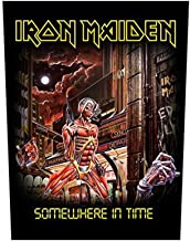 """20 Pcs Embroidered Iron on patches Iron Maiden Killers 2.81/""""x3.13/"""" AP056La"""