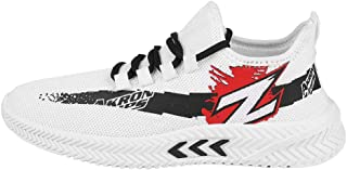 CLYMB Running Sport Casual Shoes for Men - White
