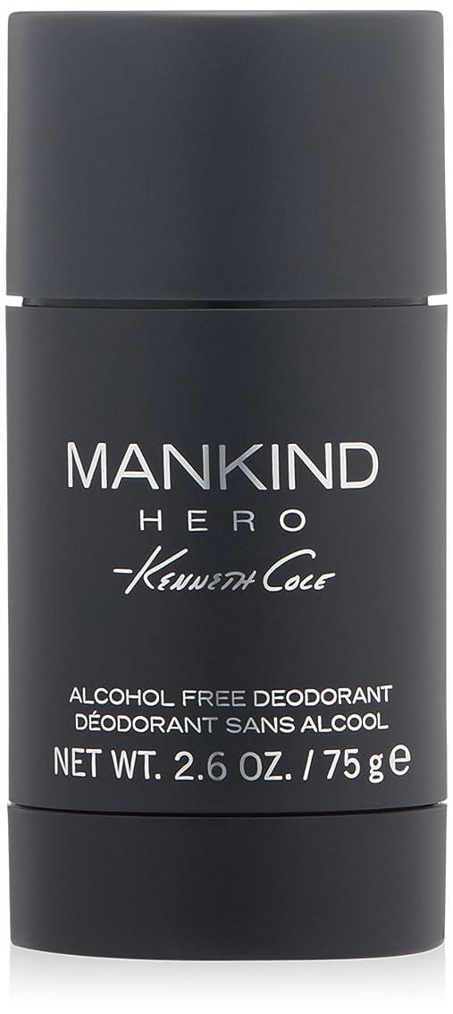 酔っ払い悩むホステスケネスコール Mankind Hero Deodorant Stick 75g/2.6oz並行輸入品
