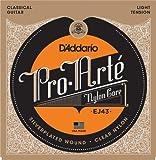 D'Addario Pro-Arte Nylon Classical Guitar Strings, Light Tension...