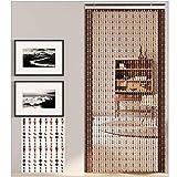 GuoWei-Cortinas de Cuentas Plástico Puerta Panel Tabique Porción Decoración Colgante Cuerdas Salón Dormitorio Moderno, Personalizable (Color : A, Size : 80x200cm-57 Strands)