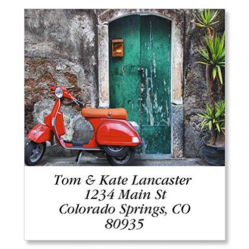Italia Self-Adhesive, Flat-Sheet Select Address Labels (12 Designs)