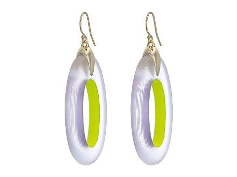 Alexis Bittar Oval Drop Earrings