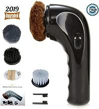 Shoe Buffer Kit Electric Shoe Polisher Brush Shoe Shiner Dust Cleaner Portable Wireless..