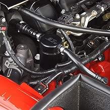 JLT Oil Separator 3.0 Driver Side, Black Anodized (2005-10 Mustang GT; Bullitt;Saleen)
