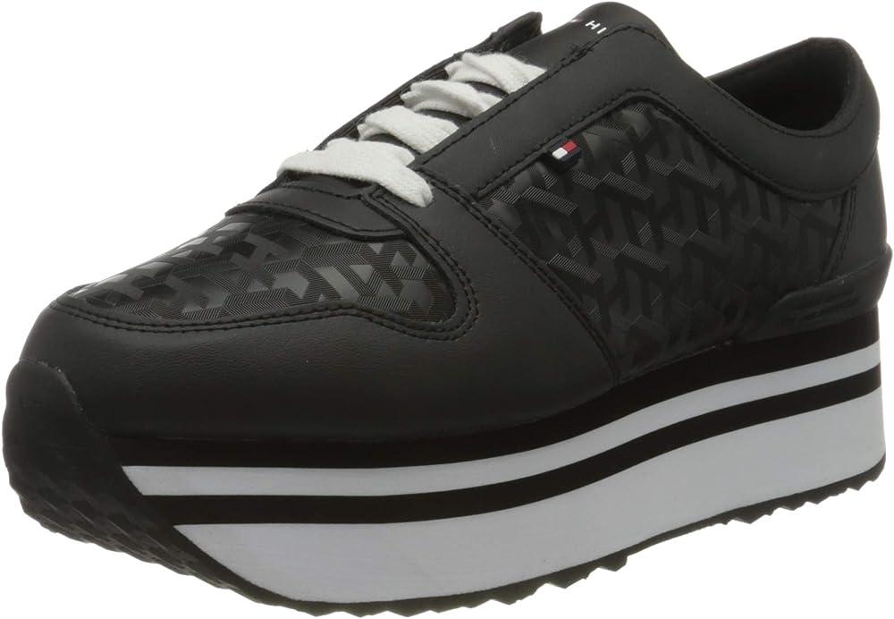 Tommy hilfiger scarpe da ginnastica donna in pelle FW0FW04680