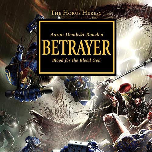 Betrayer audiobook cover art