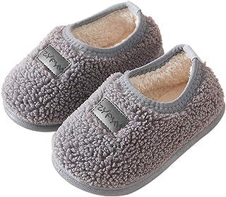 DEBAIJIA Scarpe Bambino 1-5T Principiante Bambini Materiale PVC Suola Morbida Cotone Carino Tinta Unita