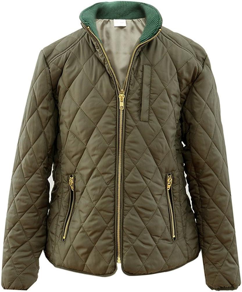 M2C Girls Diamond Quilted Barn Jacket Winter Coats