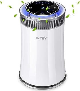 INTEY Purificador de aire Hepa - Smart 8H Timer Luz de noche azul para el hogar - Elimina 99.97% alergias, humo, polvo, po...