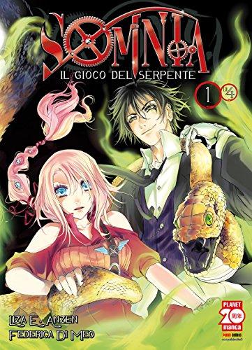 Somnia. Il gioco del serpente 1 (Manga) (Italian Edition)