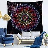 Serie Mandala Tapiz para el hogar Impreso Tapiz de Pared Toalla...