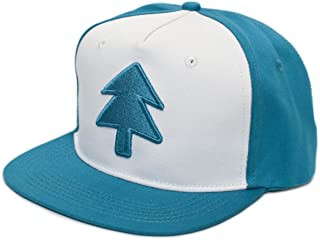DIPPER BLUE PINE TREE MOVIE FLAT SNAPBACK KAPPE MÜTZE HAT CARTOON BASEBALL CAP